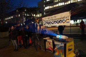 Projektion antisemitischer Straftaten 2016